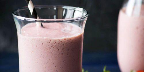 Milkshake-santé-aux-fraises-066