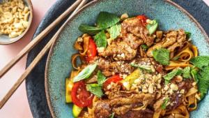 salade thaï boeuf hellofresh