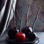 Pommes d'amour Halloween