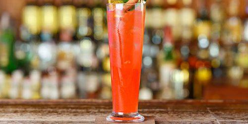 Cocktail au gin : l'île Granada