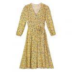 Robe cache-cœur en coton et polyester, Gap, 90 $_500x500