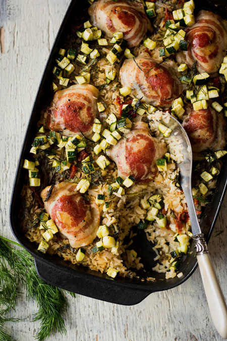 6.meilleure-recette-Casserole-de-riz-et-poulet