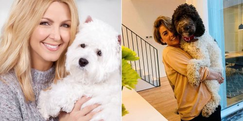 Stars-québécoises-et-animaux-de-compagnie-Veronique-Cloutier-Valerie-ROberts