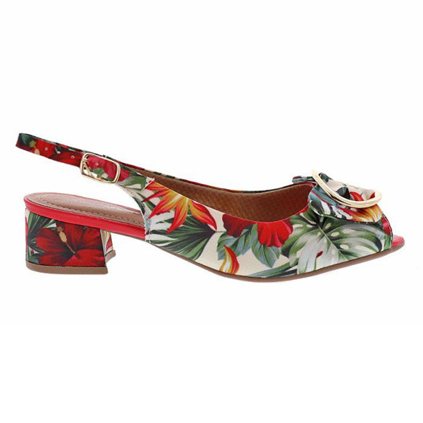 Sandale-à-motif-tropical-Bo-Pied