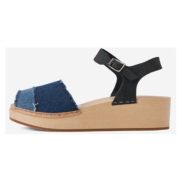 Sandale-à-semelle-de-bois-G-Star