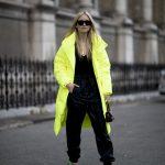 Tendance mode automne 2019 néon