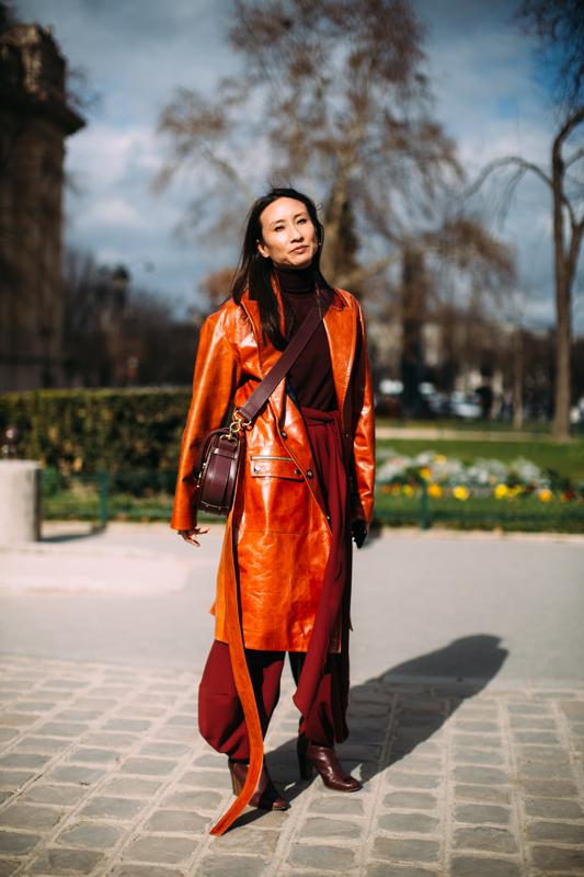 Tendance mode automne 2019 couleurs épices