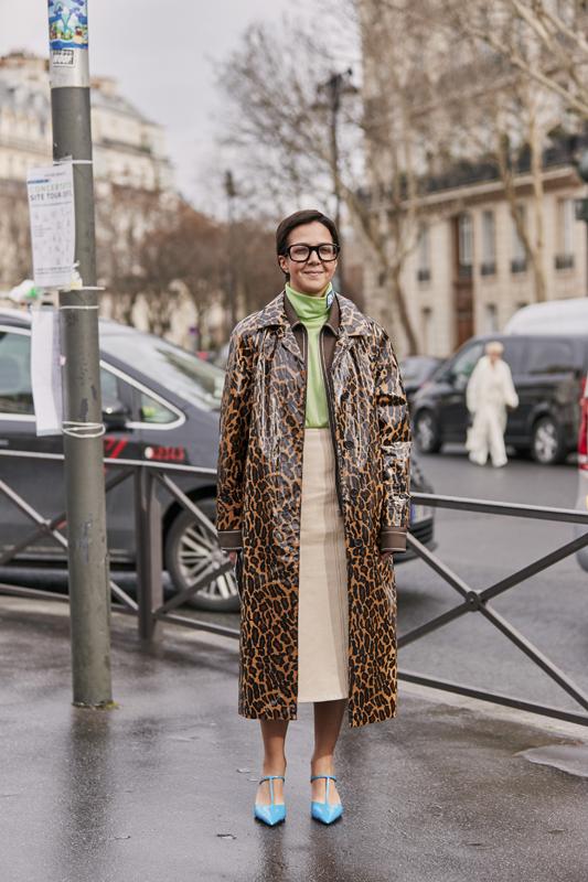 Tendance mode automne 2019 imprimé animal léopard