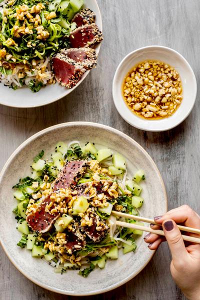 Salade-de-nouilles-de-riz