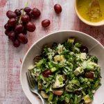 Salade-de-poulet-raisins-et-épinards-Version-2