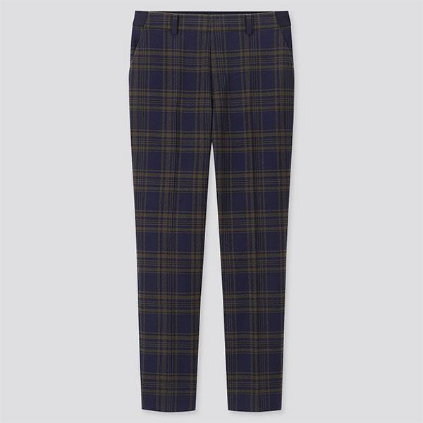 Pantalon-à-carreaux-Unqlo