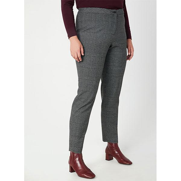 9.Mode-taille-plus_Pantalon-jambe-droite-à-carreaux-Laura-Plus