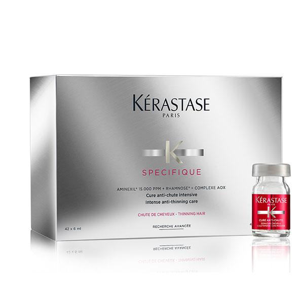 Cure-intensive-épaississante-pour-cheveux-clairsemés-Spécifique-de-Kérastase-Paris-