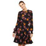 3-Robe-à-motif-floral,-Suzy-Shier