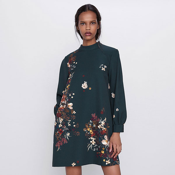 11-Robe-imprimée-à-coupe-ample,-Zara