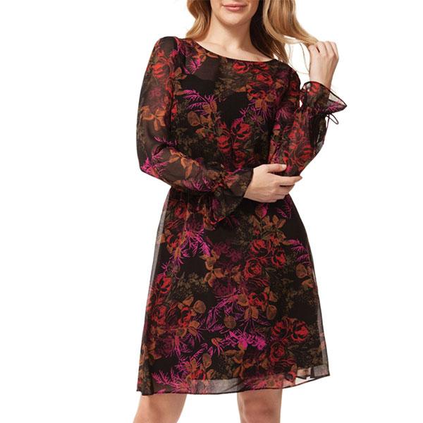 24-Robe-à-motif-floral-à-taille-élastique,-Dex-chez-La-Baie-d'Hudson