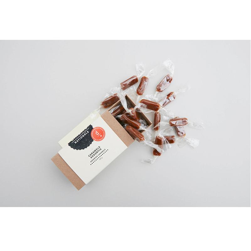 15-Caramels mous en papilotte, Dinette Nationale