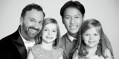 Joel Legendre et ses enfants