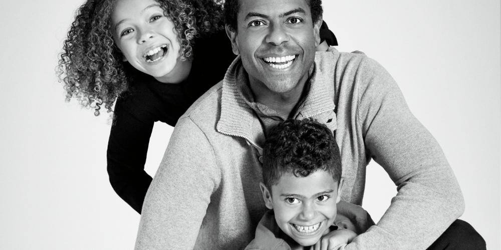 Frederic Pierre et ses enfants