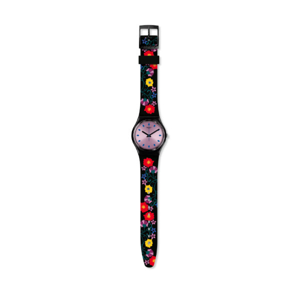 9-Montre en silicone, Swatch