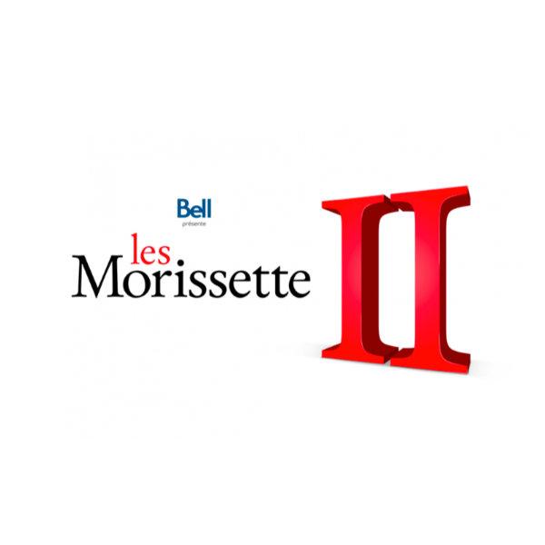 5-Billets de spectacle «Les Morissette II» de Véronique Cloutier et Louis Morissette
