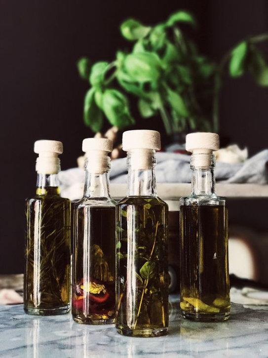 Cadeau gourmand_Huile d'olive parfumée
