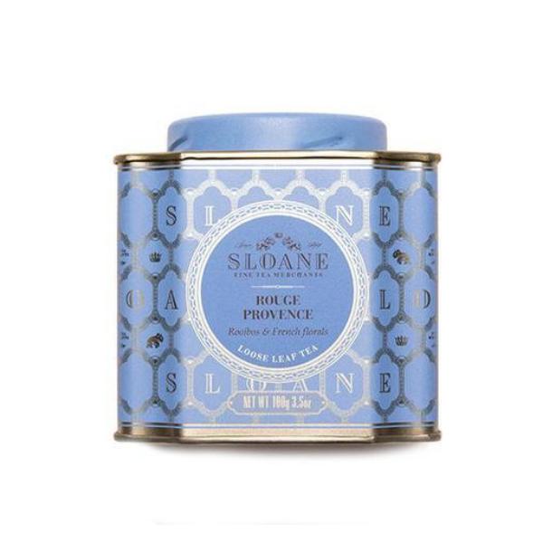 Boîte de thé Rouge Provence, Sloane