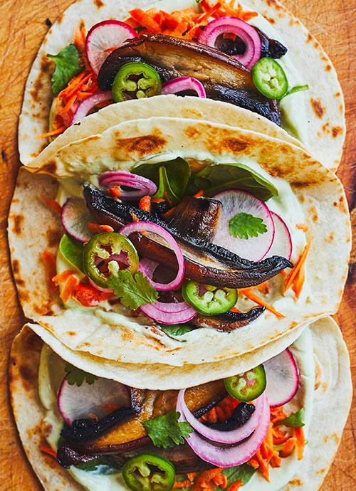 Tacos Porto Bello de Genevièeve O'Gleman