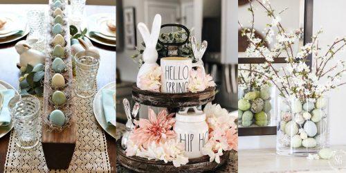 10 idées de décorations pour Pâques