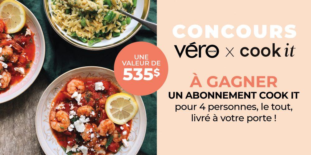 Concours Cook it x VÉRO