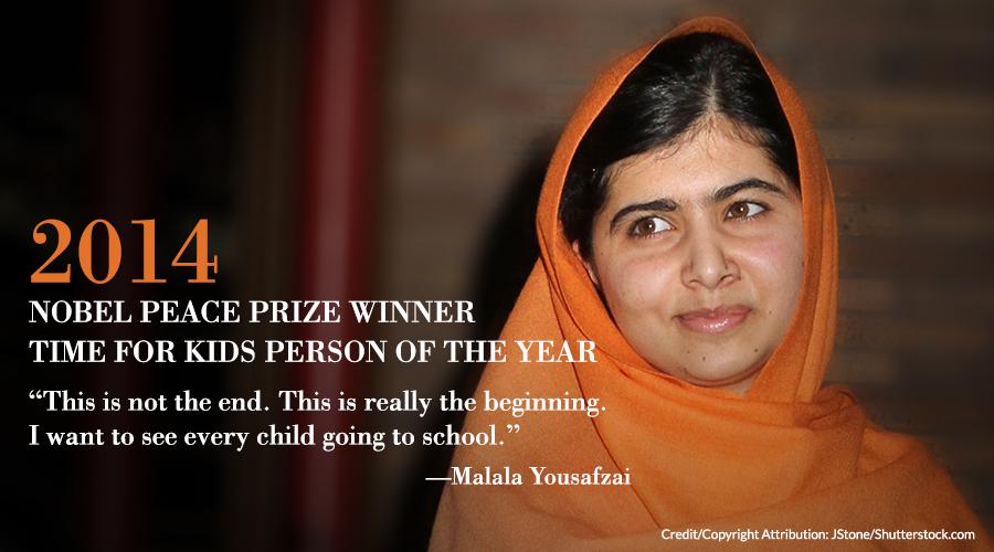 Malala Yousafzai Nobel Peace Prize Winner | Cavendish Square
