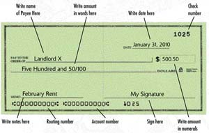 First bank account and first investments teen health and wellness sample check ccuart Choice Image