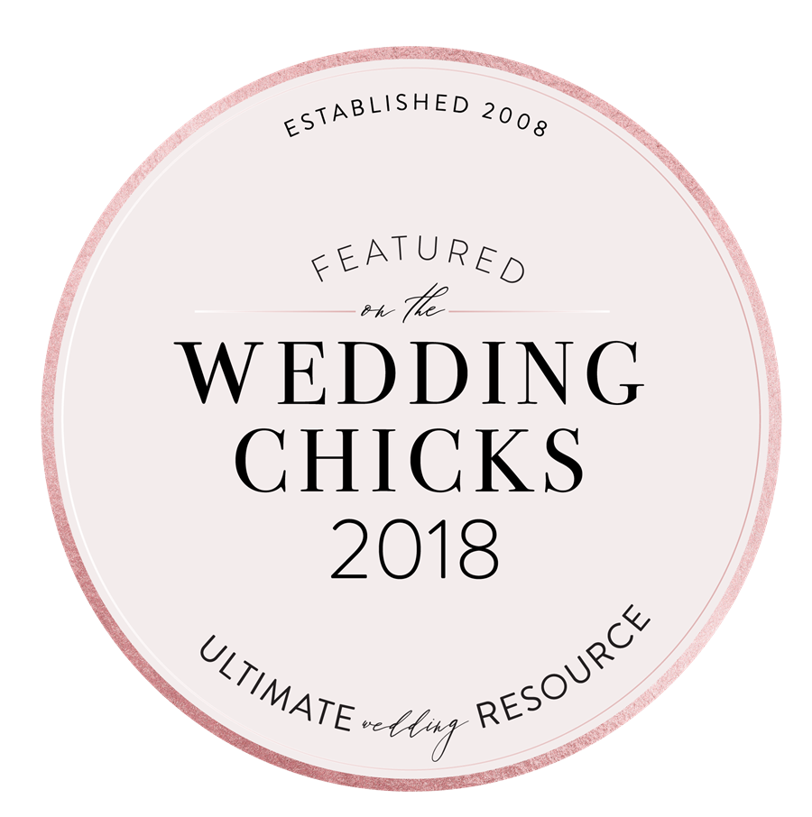 Featured in the Wedding Chicks 2018