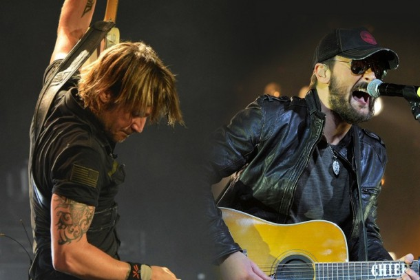 "Keith Urban & Eric Church - ""Raise 'Em Up"""