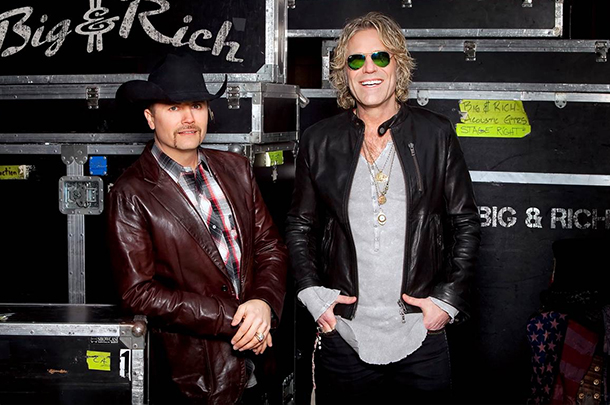 Big & Rich Score Three Top 10 Hits In A Row