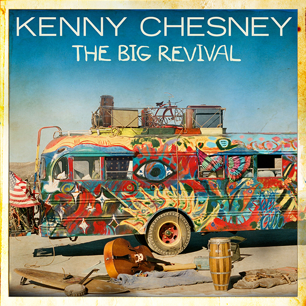 Cover Art for The Big Revival (C)Columbia Nashville