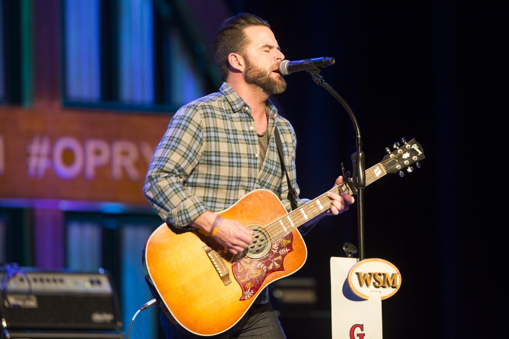 David Nail Performs On The Grand Ole Opry