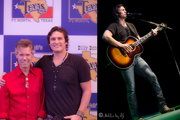 Randy Travis Visits Joe Nichols Show In Texas
