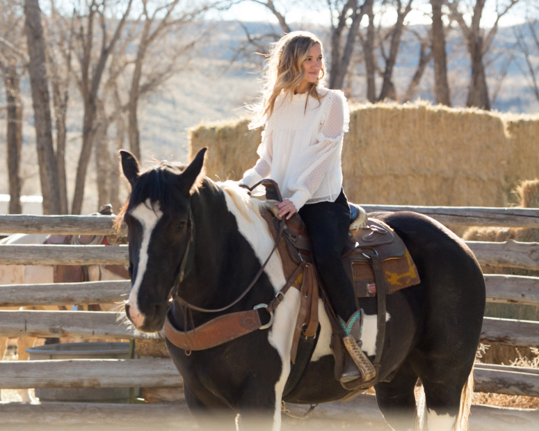 "Exclusive: Behind the Scene's of Sarah Darling's ""When Cowboys Ride"" Video"
