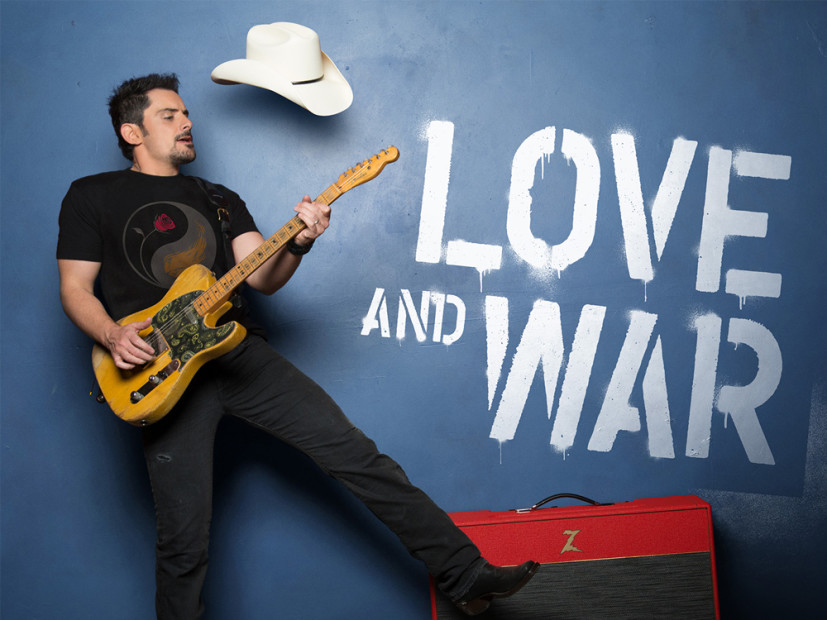 "Album Review: Brad Paisley - ""Love and War"""
