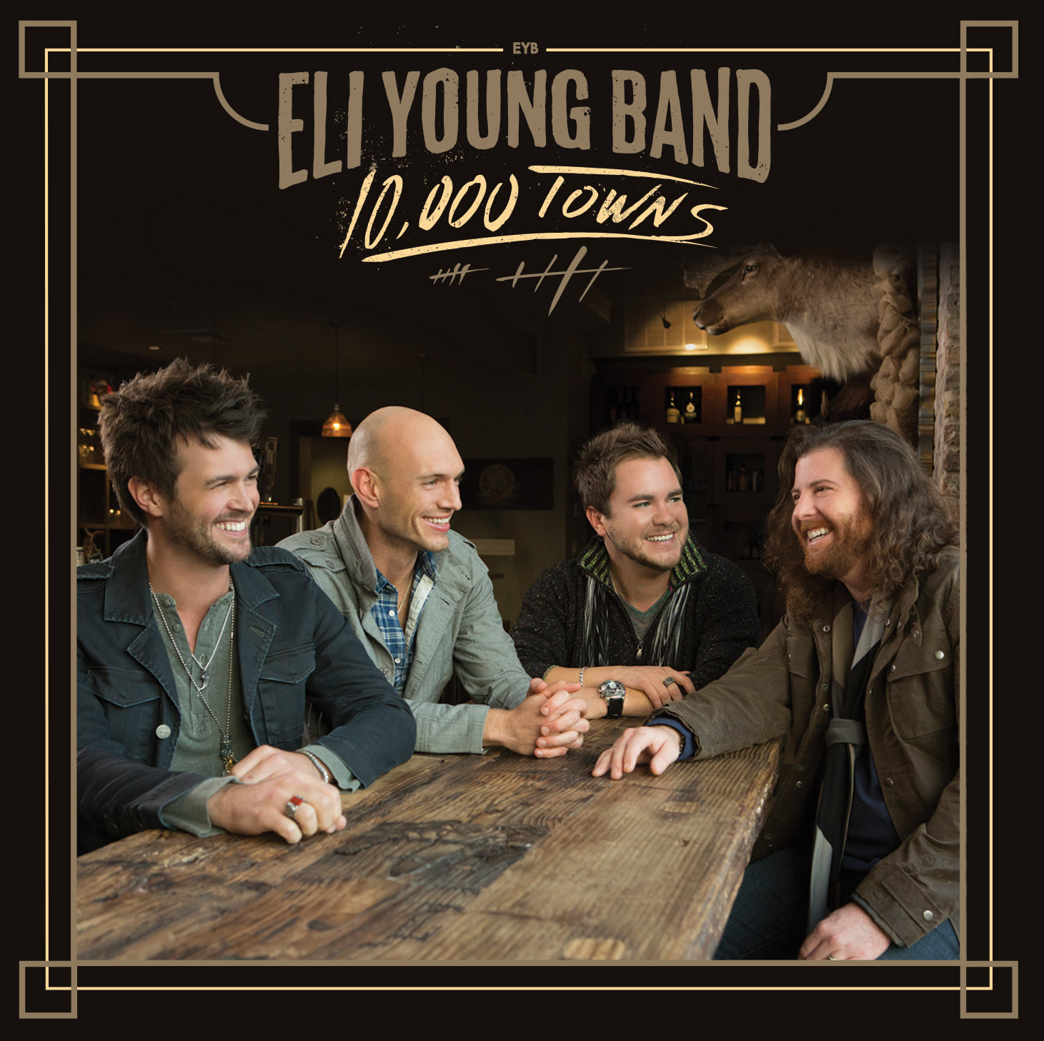 Album Review: Eli Young Band - 10,000 Towns