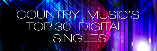 Country Chart News - The Top 30 Digital Singles - January 8, 2014: Luke Bryan, Florida Georgia Line, Cole Swindell, Cassadee Pope, Scotty McCreery