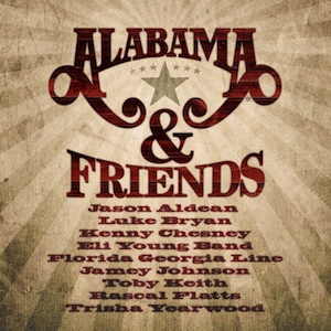 Alabama & Friends Concert From the Ryman to Air on GAC Network on November 27