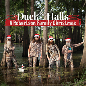 "Country Album Chart News: The Week of November 6, 2013: Duck Dynasty's The Robertson Family Score #1 Album With ""Duck The Halls"" Christmas Recording"