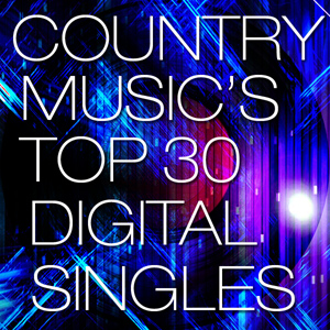 Country Chart News - The Top 30 Digital Singles - October 16, 2013: Chase Rice Debuts #2 W/'Ready Set Roll'; Cassadee Pope, Chris Young & Blake Shelton's latest Nearly Gold