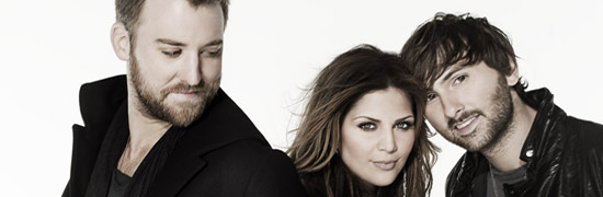 Lady Antebellum Tops Charts Again