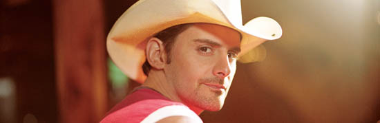 Brad Paisley Leads Country Stars on Charts