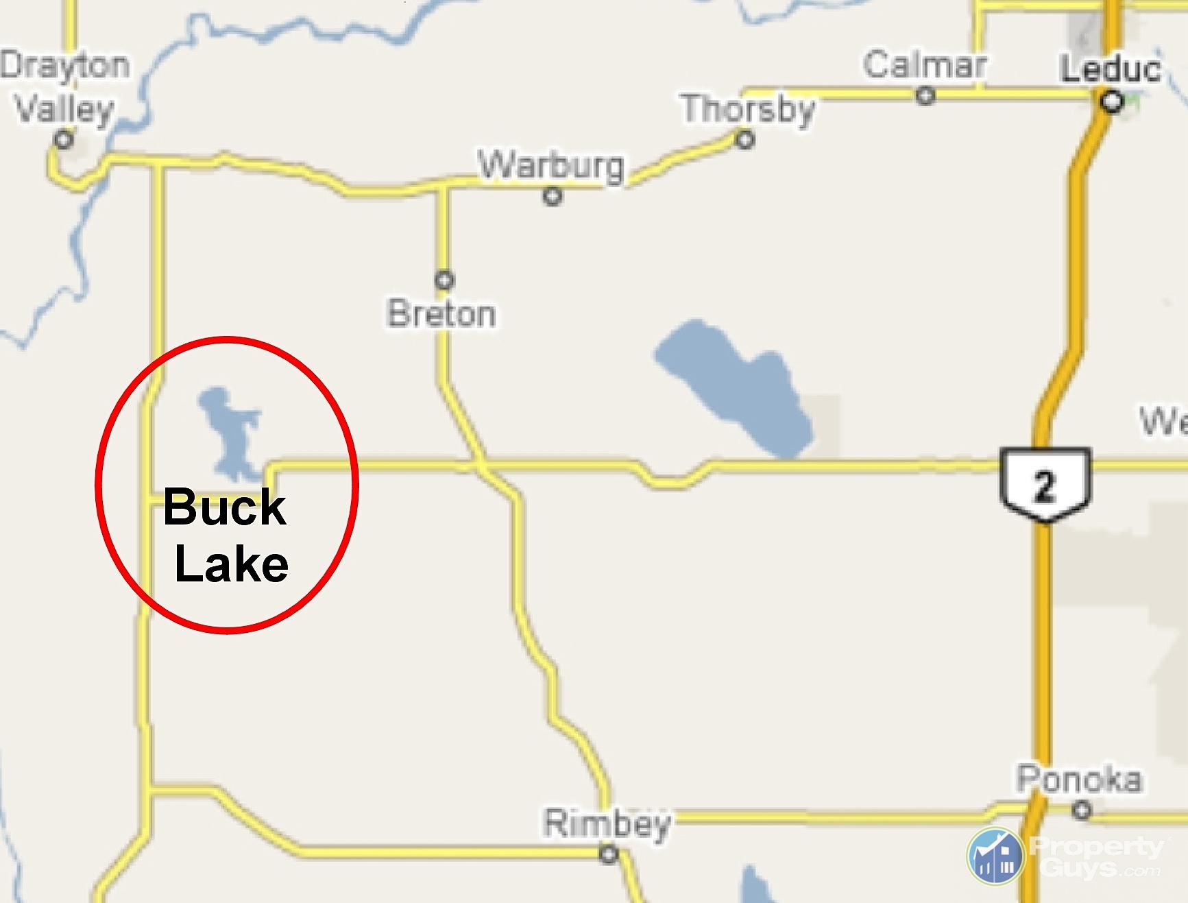Buck lake alberta postal code