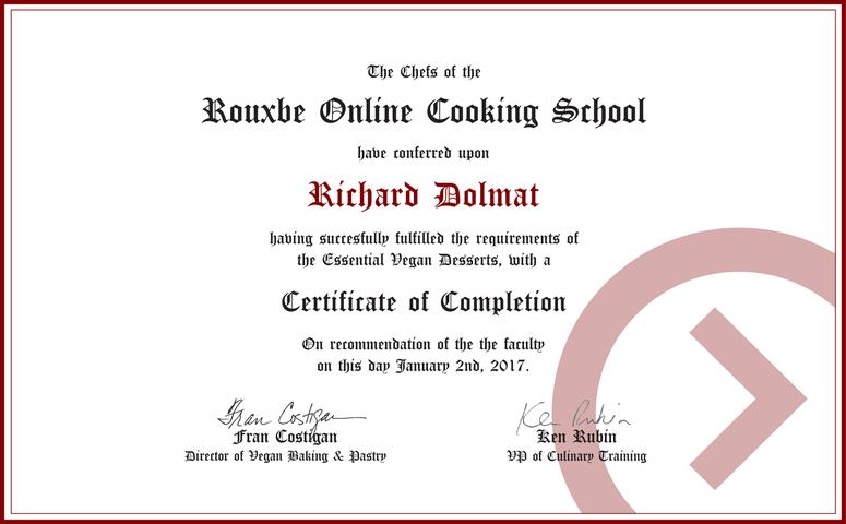 Hd854 rxbe certificate vegan desserts cropped