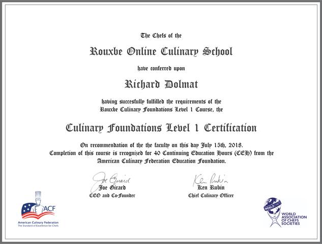 Hd854 certificate partners generic acf wacs